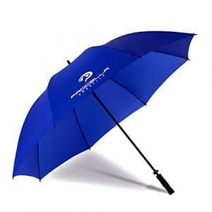 Procella Parapluie de Golf Tempête Résistant Grand 172 cm XXL, pour Hommes et Femmes, Sport, Imperméable, (Bleu Royal)