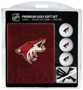 Team Golf NHL Arizona Coyotes Serviette Brodée Ensemble Cadeau