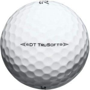 TITLEIST Lot de 50 balles de Golf DT TruSoft Qualité Perle/Grade A (utilisée).