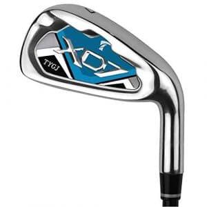 Wanlianer-Sports Clubs de Golf Club de Pratique de Golf de qualité supérieure pour Les Hommes Femmes s'adapte à la Pratique de Golf en intérieur et en extérieur Coins de Sable de Golf