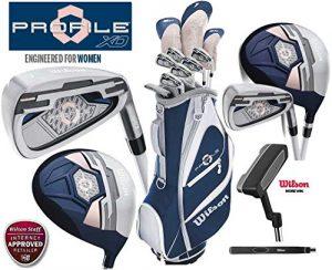 Wilson Profile XD Ensemble de golf pour femme