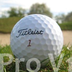 25Titleist Pro V1Lake Balls/Balles de golf Qualité AAA/AA
