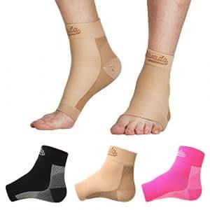 Alvada AIvada Paire de chaussettes de compression pour fasciite plantaire pour pieds – Soutien confortable de la voûte plantaire – Soulagement rapide de la douleur, réduction des douleurs
