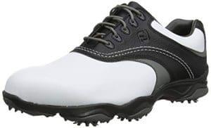 Foot Joy Fj Originals, Chaussures de Golf Homme, Blanc (Blanco/Negro/Gris 45306m), 42 EU