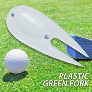 HATCHMATIC ABS Golf Greens Fork Emplacement Forks Golf Pitchfork Outil Golf réparation Divot Fourche Pratique
