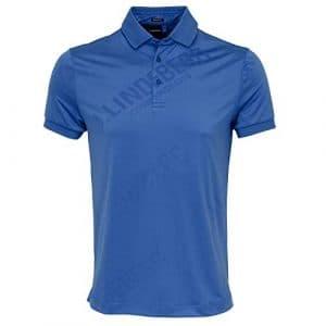 J. Lindeberg Caleb Reg TX Coolmax Mesh, Homme, 92MG651686511, Work Blue, L