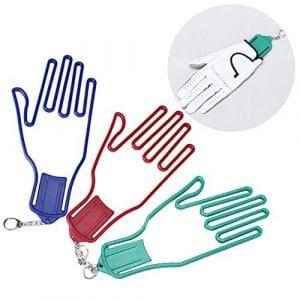 qingsb Support pour Gants de Golf en Plastique pour sèche-Linge Couleur aléatoire