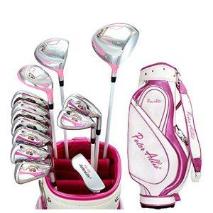 Séries de Golf Ensemble de Putter de Golf Droit pour Dames de Club de Golf Rose Robuste et Durable pour bâtons de Sports de Plein air (Couleur : One Color, Taille : Taille Unique)