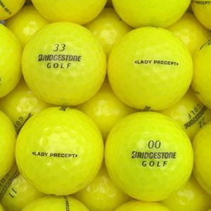lbc-sports Balles de Golf Lady Precept AAAA AAA Jaune Lakeballs, lbc-6015-var-25-200, Jaune, 50 Bälle