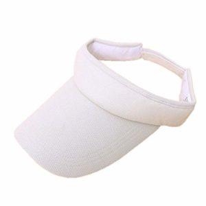 Opromo Cotton Sports Visières, Golf Sun Visor Hats, Réglable