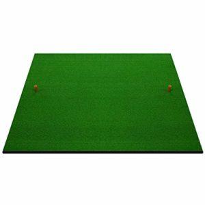 Tapis de putting Tapis d'entraînement pour Practice de Golf 3'X3 'avec Support Anti-dérapant pour Tapis d'entraînement, Base en Caoutchouc (Taille : 2cm Thick)