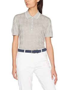 Falke 37832 Polo Femme, Light Grey Mel, FR : M (Taille Fabricant : M)