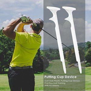 HATCHMATIC 5pcs Golf Tees Golf Training Aids Essential Balle de Golf Tee Holder extérieur Golfeur Formation Accessoires Aide