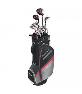 Inconnu Wilson Clubs Homme Prostaff Hdx Steel Right Hand 1/2 Set Gris Taille Adult