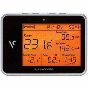 Swing Caddie SC 300 Pro Moniteur de Lancement Portable avec télécommande et Technologie Radar Doppler SC300