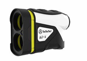 TecTecTec! ULT-X Télémètre Golf Haute Précision avec Inclinaison, Scan et Distance au Drapeau