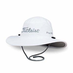 TITLEIST Golf Chapeau (Tour Aussie) (Tour Aussie, White/Grey, Adjustable)
