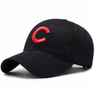TYMVisor Casquette de Baseball Unisexe Ajustable Pliable Chapeau de Baseball Sport Courir en Plein air Loisirs écran Solaire Ombre Chapeau (56-60CM),Black