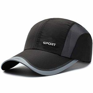 TYMVisor Casquette de Baseball Unisexe réglable Pliable Chapeau de Baseball Sport en Plein air en Cours d'exécution Loisirs écran Solaire Ombre Respirant Chapeau de Maille (56-60CM),2#