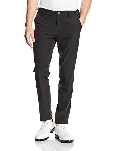 adidas Ultimate Tapered Fit Pantalon Long de Golf pour Homme, Homme, Ultimate Tapered Fit, Noir, 30-32