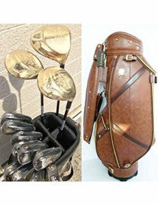 HDPP Club De Golf Club De Golf 9 Clubs De Golf Complets Driver + Bois De Parcours + Fers + Putter + Manche en Graphite