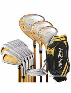 HDPP Club De Golf Nouveau Club Compelete 4 Étoiles Clubs De Golf Driver Fairway Fers À Bois Sac Putter Manche De Golf Graphite