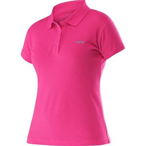 HEAD Transition W Mary Polo Polo Sport 814566de pktq Rose S Pink/Turquise