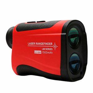 JYL Télescope Télémètre LM600 LM800 LM1000 LM1200 LM1500 Télémètre Télémètre monoculaire pour la Chasse au Golf avec Mesure du Drapeau, de la Vitesse, de la Pente et des Angles,A,1500Mlithiumbattery