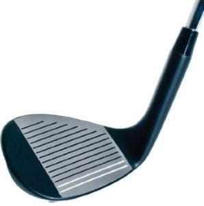 Longridge Wedge Gun Metal Tete Acier 60 Deg Golf Argent