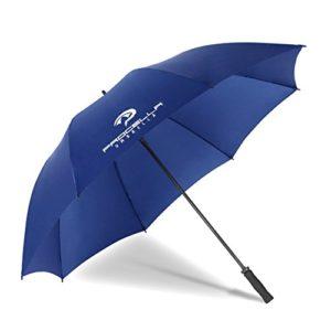 Procella Parapluie de Golf Tempête Résistant Grand 172 cm XXL, pour Hommes et Femmes, Sport, Imperméable (Bleu Marine)