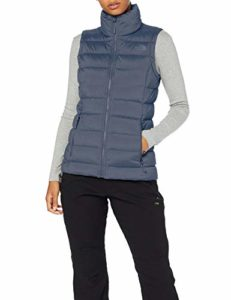 The North Face T93O7F Gilets Femme Grisaille Grey FR : L (Taille Fabricant : L)