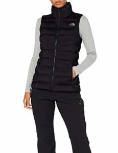 The North Face T93O7F Gilets Femme Tnf Black FR : S (Taille Fabricant : S)