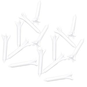 Wangc Environ 100pcs Creative 70mm Plastique Tees de Golf Claw-Shape (Blanc)