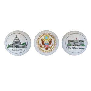 Ball Set of Three (3) – Presidential Golf Balls