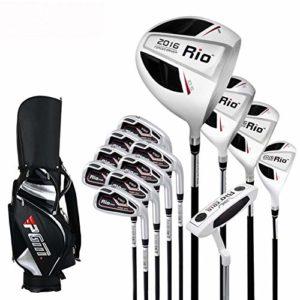 HDPP Club De Golf Barre d'apprentissage De Poteau De Pratique De Club De Golf pour Hommes Masculinssteel Rods