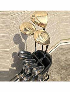 HDPP Club De Golf Nouveau Club De Golf 9 Clubs De Golf Complets Driver + Bois De Parcours + Fers + Cache-Tige en Graphite