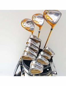 HDPP Club De Golf Nouveaux Clubs De Golf 4Star Compleete Club Set Driver + 3 / 5Wood + Fers + Putter Et Manche De Golf en Graphite