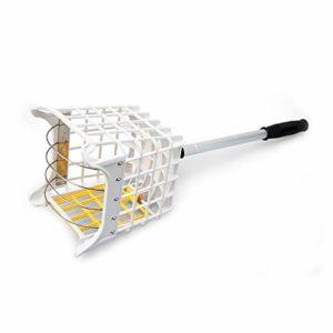 LYY 40 Retriever de collecteur de balles de Golf, Ramassez Les balles de Golf et distribuez-Les avec facilité, sans Flexion du Dos, Hauteur ajustable-18 * 18 * 87CM