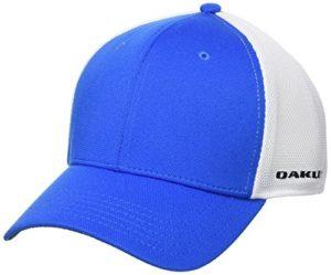 Oakley Driver 2.0 Cresting Casquette Mixte Adulte, Bleu, FR (Taille Fabricant : L/XL)