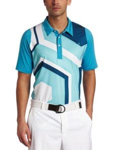 PUMA Pantalon de Golf Duo Swing Geoprint Polo, Homme, Bleu Vif, Medium