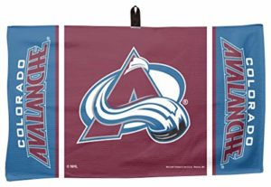 Wincraft NHL Colorado Avalanche Serviette de Golf gaufré 35,6 x 61 cm