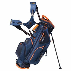 Big Max Dri Lite Hybrid Stand Golf Bag – Noir/Orange