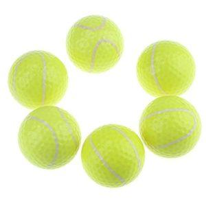 kofull Fantaisie Golf Practise Boule Boule de Gamme de Conduite avec Cadeau Box-6pcs, Tennis