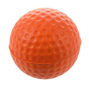 Moligh doll Balle de Golf pour Formation de Golf Souple en Mousse PU Balle de Pratique – Orange