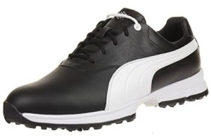 Puma Golf Ace Leather Men Golfschuhe Golf 188658 04 black, pointure:eur 40.5