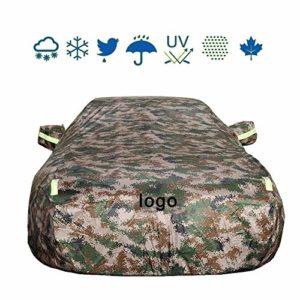 QXL-car cover Couverture Voiture Compatible avec Chevrolet Malibu Spécial Épais Crème Solaire Imperméable Antigel Étanche À La Poussière Anti-UV Anti-Rayures Couverture De Voiture,Enhancedcamouflage
