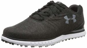 Under Armour Showdown SL Sunbrella E, Chaussures de Golf Homme, Noir (Black Steel 001), 42.5 EU