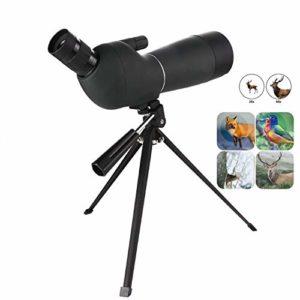 20-60X60 télescope de Haute qualité Puissant monoculaire Spotting Scope pour l'observation des Oiseaux en Plein air de Chasse Vue Voyage avec trépied