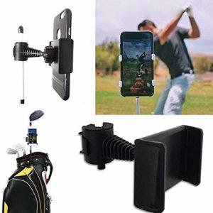 Baiansy Support de téléphone pour Enregistrement de Golf