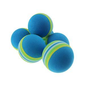 Balle Souple en Mousse Practise Balles de Golf, Bleu